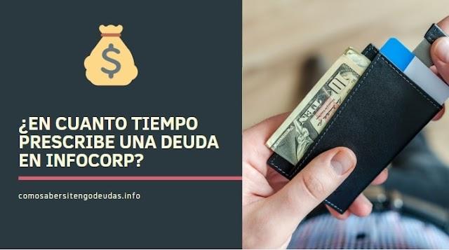 ¿En cuanto tiempo prescribe una deuda en infocorp? 🥇 2019