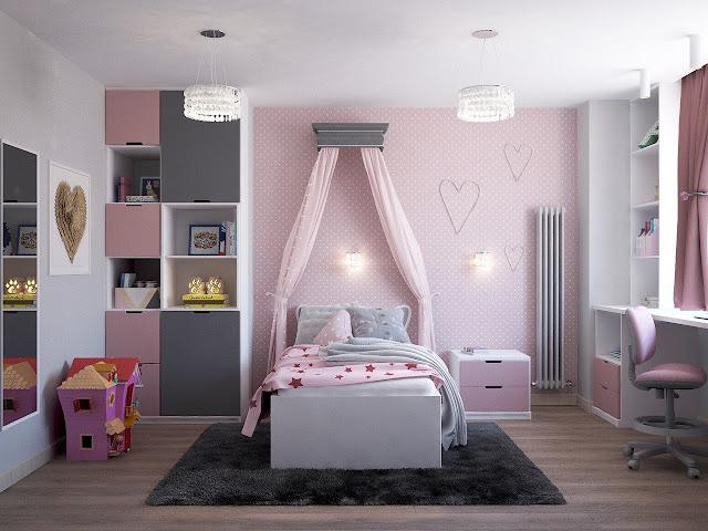 8 Inspirasi Dekorasi Kamar Tidur Anak Perempuan Sederhana Yang Simple Arafuru