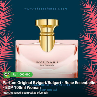 toko parfum asli parfum original bvlgari bulgari rose essentielle edp 100ml woman