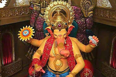 Lalbaugcha Raja 2017: Image & First Look Viral Photo of Krishna Avatar