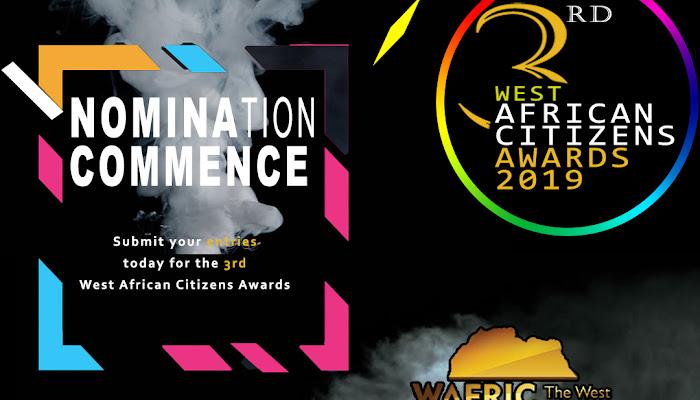 WAFRIC AWARDS 2019 NOMINATIONS