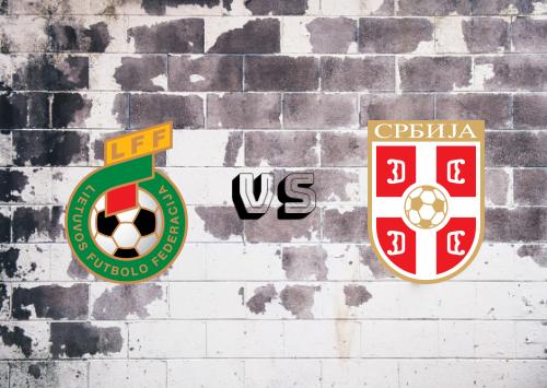Lituania vs Serbia  Resumen