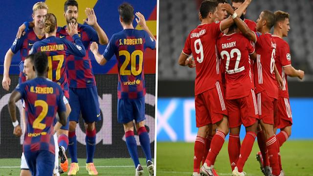 برشلونة ضد البايرن