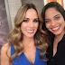 Raquel Dias participa de plateia do programa 'Encontro com Fátima'
