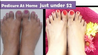 How to do pedicure at home under | cheap & effective | StarnaturalBeauties