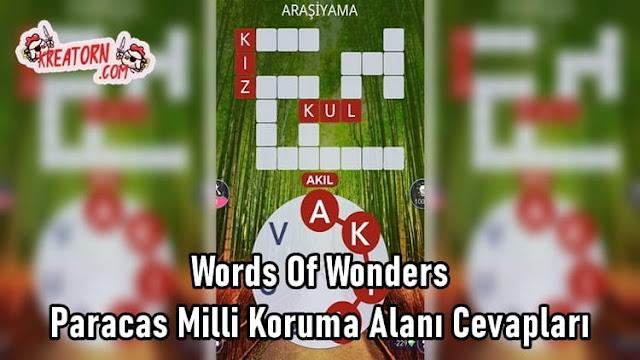 Words-Of-Wonders-Paracas-Milli-Koruma-Alani-Cevaplari
