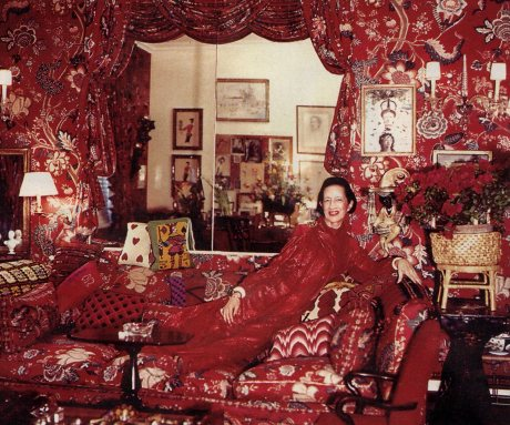 5 Ws Of Design 5ws Of Diana Vreeland S Living Room