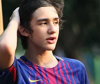 Emiliano Fernando Cortizo pemeran Rivaldo (Aldo) di Anak Langit