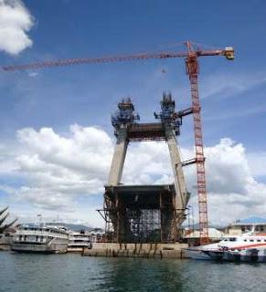 Pylon 'H' Jembatan Soekarno