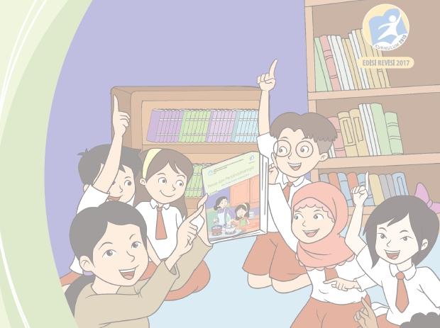 Download Buku Guru Kelas 5 SD/MI Kurikulum 2013 Revisi Terbaru 2017 Semester 2 Tema 6, 7, 8, dan 9