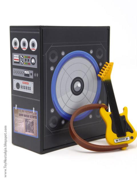 Amplificador y Guitarra eléctrica Playmobil Regreso al Futuro - Calendario de Adviento (Playmobil Back To The Future - Calendario de Adviento)