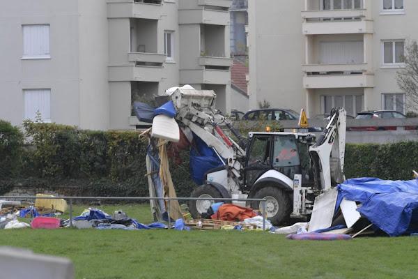 Reims (51) : opération de police dans les squats de migrants
