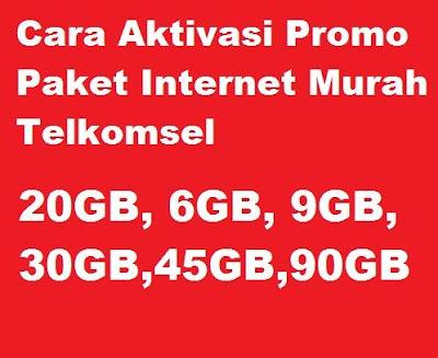 Beragam jenis paket internet Telkomsel murah yang bisa kamu aktifkan pada kartu Telkomsel Cara Aktivasi Paket Internet Murah Telkomsel 6GB cuma 15Rb