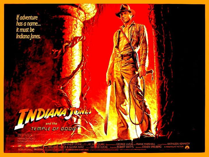 El rodaje de Indiana Jones y el templo maldito