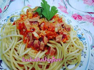 Resepi Spaghetti Bolognaise Cara Jimat Dan Senang.....