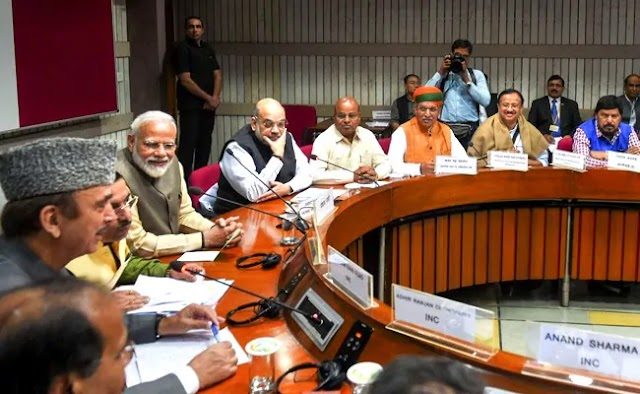 Central Government is firm on its earlier stand on Farm laws: PM Modi at all party meet