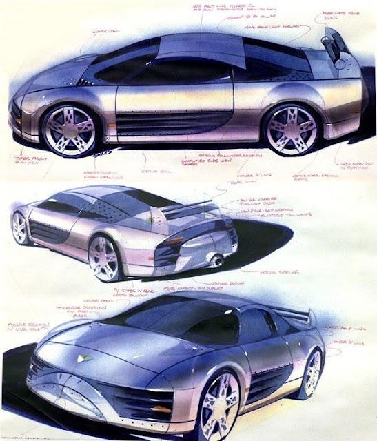 Mitsubishi SST, szkic