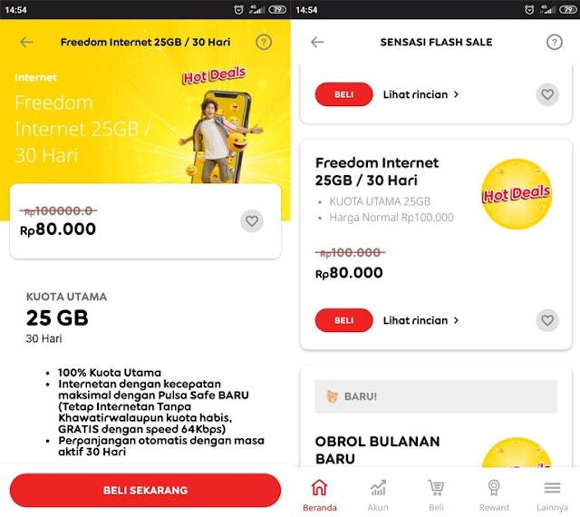Cara Mengaktifkan Paket Internet Indosat 25GB 80.000