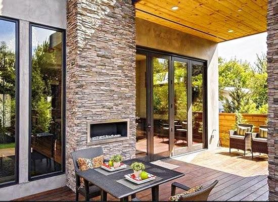 contoh desain teras rumah minimalis lengkap terbaru 2016