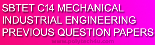 C-14-403-INDUSTRIAL ENGINEERING PREVIOUS QUESTION PAPERS SBTET AP PDF DOWNLOAD