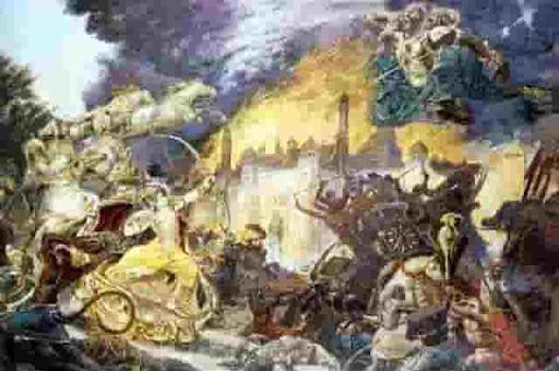 Исчезнувшие цивилизации, Империя Рама
