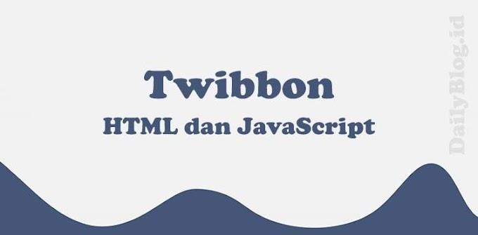 Menggabungkan 2 Gambar Seperti Twibbon Menggunakan HTML dan JavaScript