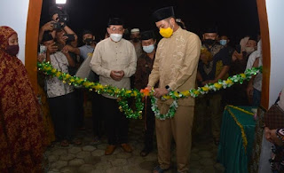 Bupati Sinjai Resmikan Masjid Babul Jannah Dusun Mattiro Deceng