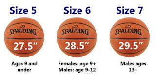 ukuran berat tekanan udara bola basket