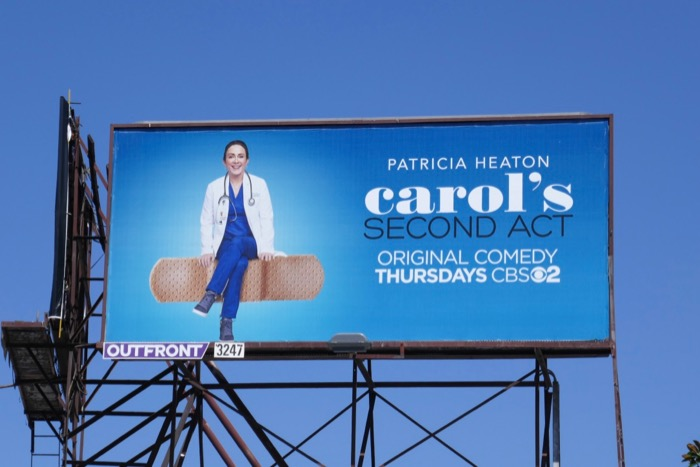 Carols Second Act Band-Aid billboard