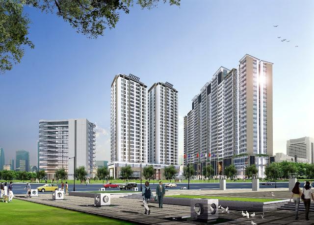 Phối cảnh tổng thể chung cư Sunrise Complex