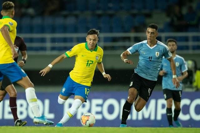 Iguaçuense Pepê marca golaço na vitória da Seleção Pré Olímpica