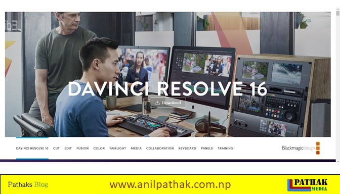 best free video editing software for pc davinci resolve