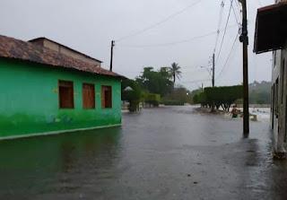 Governo do Estado reconhece situação de emergência em Andaraí após fortes chuvas