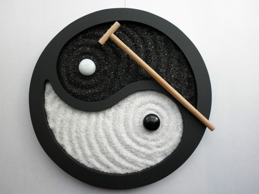 Twc zen lovers for Jardin yin yang