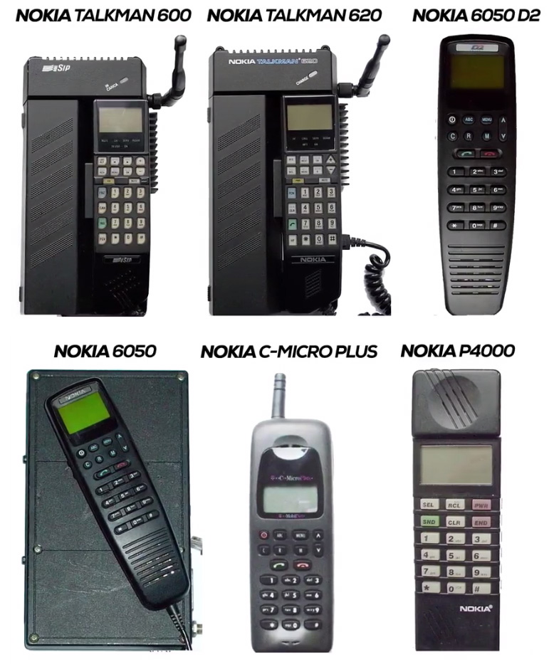 Nokia in the year 1991