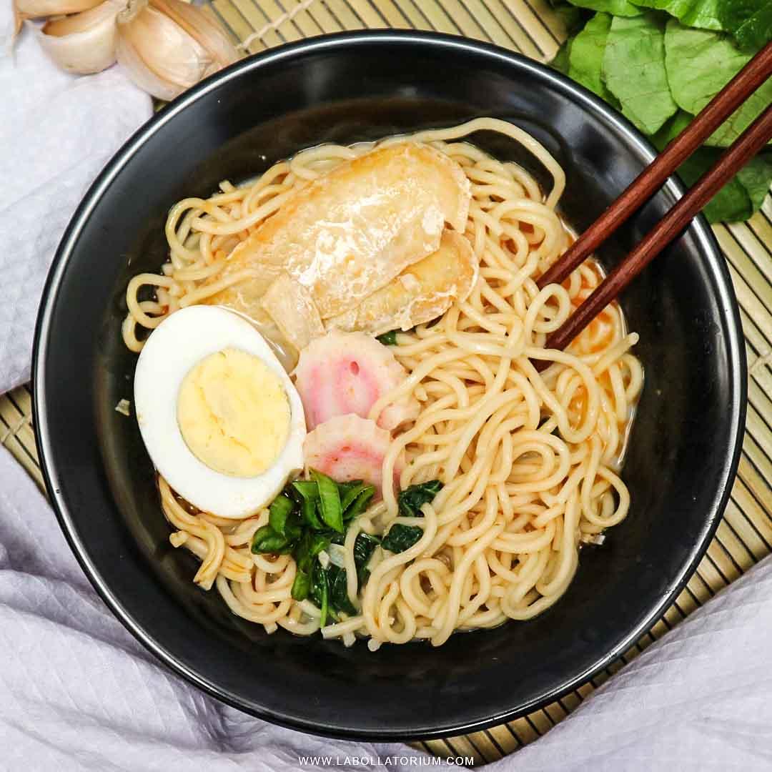 Mie Ramen Instan Nissin Mikuya Rasa Kaldu Ayam Ala Jepang