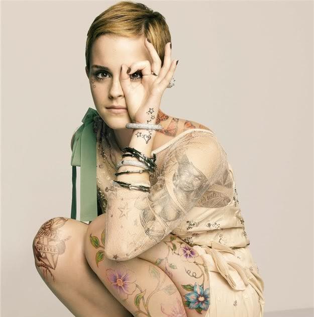 Emma Watson Tattoo