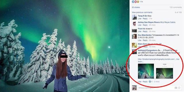 Demi Banyak Follower, Wanita Ini Pasang Foto Bohong Di Instagram