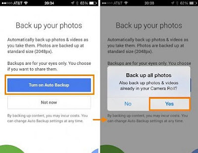 How to Send iPhone Photos to Android Wirelessly utilizing Google Plus?