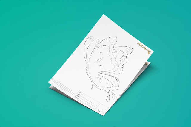 Free Printable Butterfly Template Coloriage Outline Blank Coloring Page pdf For Kids Pictures To Print Out Fun Colouring Pages Kindergarten Preschool Toddler sheet6
