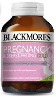 Blackmores Pregnancy and Breastfeeding Gold BPOM Kalbe - 60 Kapsul