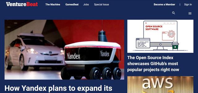 Venturebeat - Blog Teknologi Terpopuler