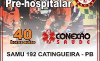 Secretaria de Saúde de Catingueira promove Curso de Capacitação de Atendimento Pré-hospitalar