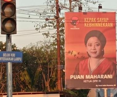 Baliho Dicorat-coret, Lawan Politik Puan Mulai 'Main Kasar'?