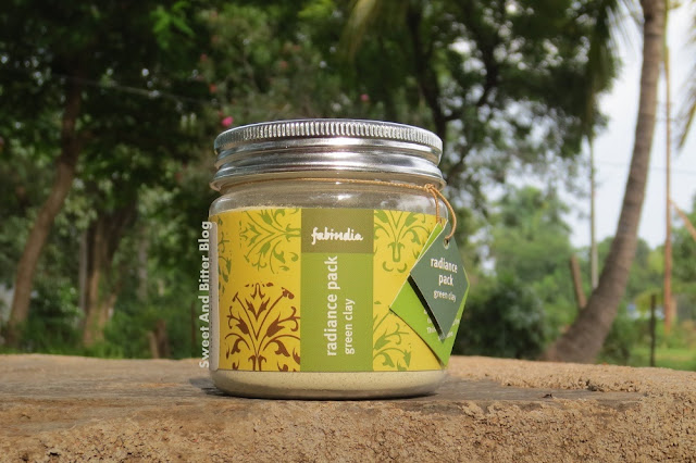 FabIndia Radiance Pack Green Clay Review