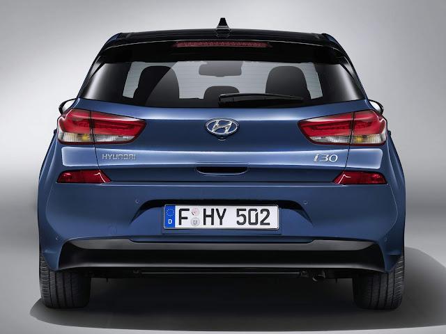 Novo Hyundai i30 2017 - traseira