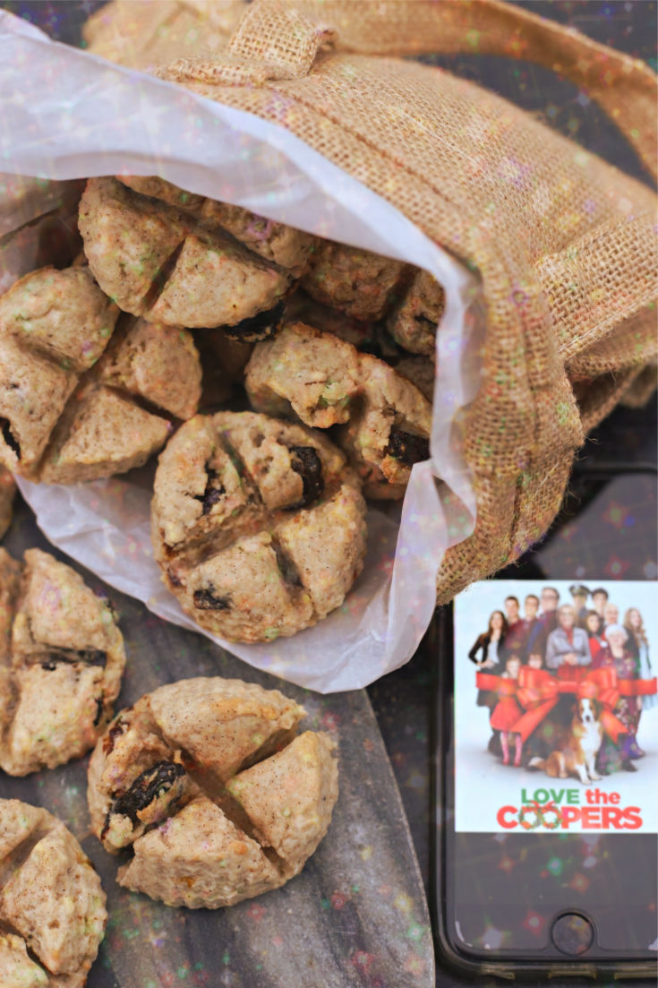 Soul Cakes inspired by Love the Coopers from All Roads Lead to the Kitchen