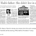 DAUGHTER OF THE YEAR: Rashida Tlaib's Father Said She Lied About Her Address — Listed her Father's Home in Detroit as Home Address — AND DID NOT EVEN TELL HIM!