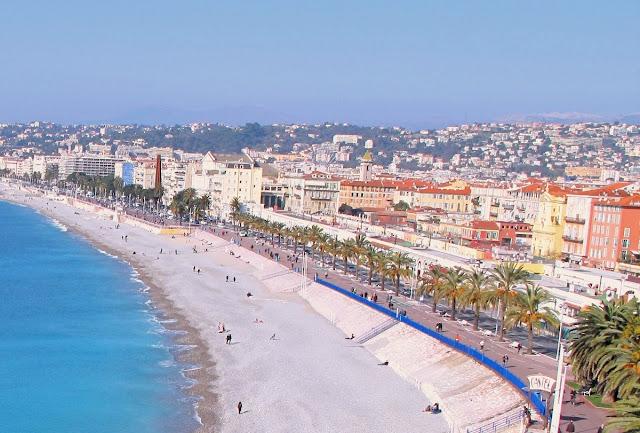 bästa stranden för promenader - Nice
