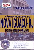 Apostila Câmara de Nova Iguaçu 2016 - Técnico em Enfermagem.